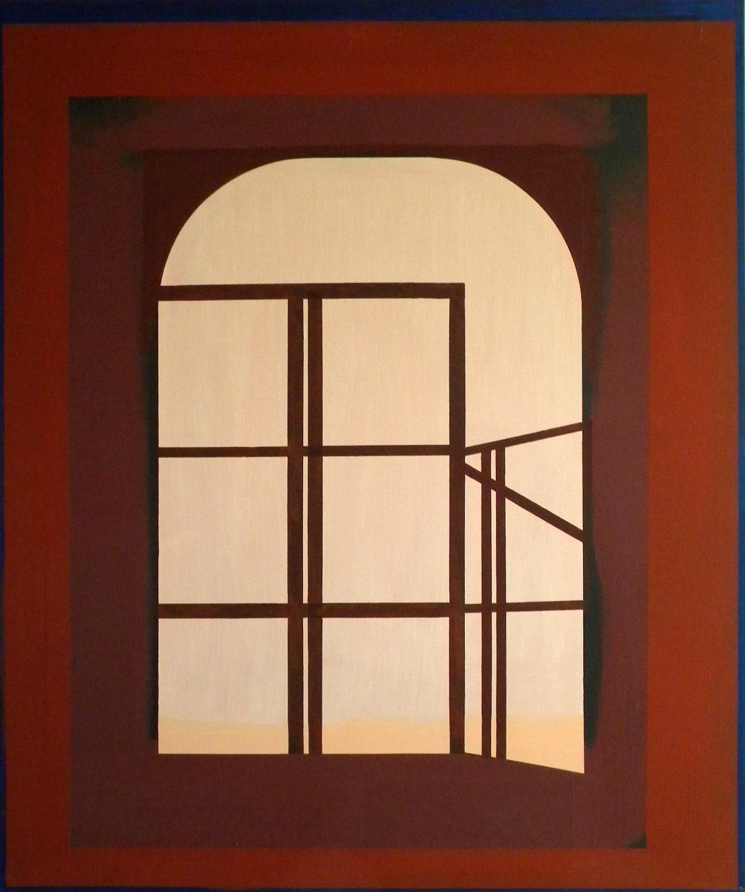 Deutsches Fenster(II),o./l.,180x150cm.,2001