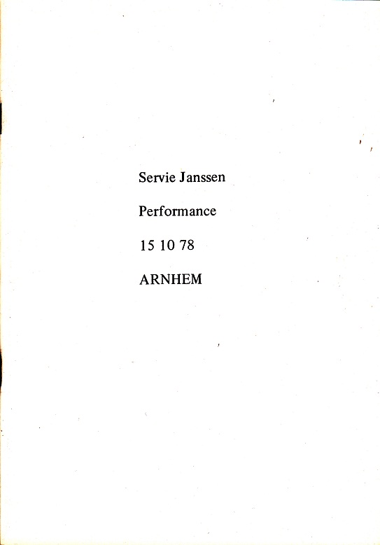Arnhem,publicatie,22x15,5cm.,ed;330, 1978,Nijmegen