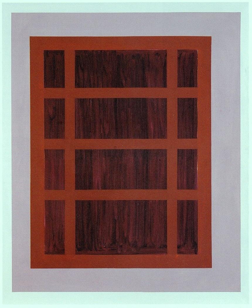 American Window,180x150 cm.,o./l.,2000 Coll: Museum Kunstpalast, D'dorf,D.