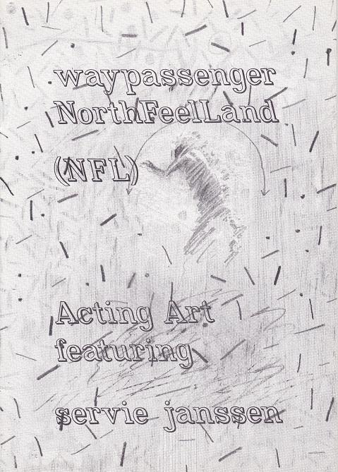 Waypassenger(II),publicatie,19x13,5cm.,24 p,ed:200ex.,1979