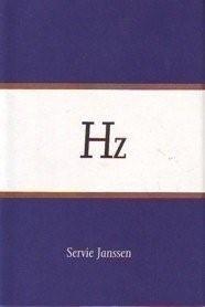 Hz,(Hertz),boek,24x16x2cm.,ed;550, 1989,Nijmegen