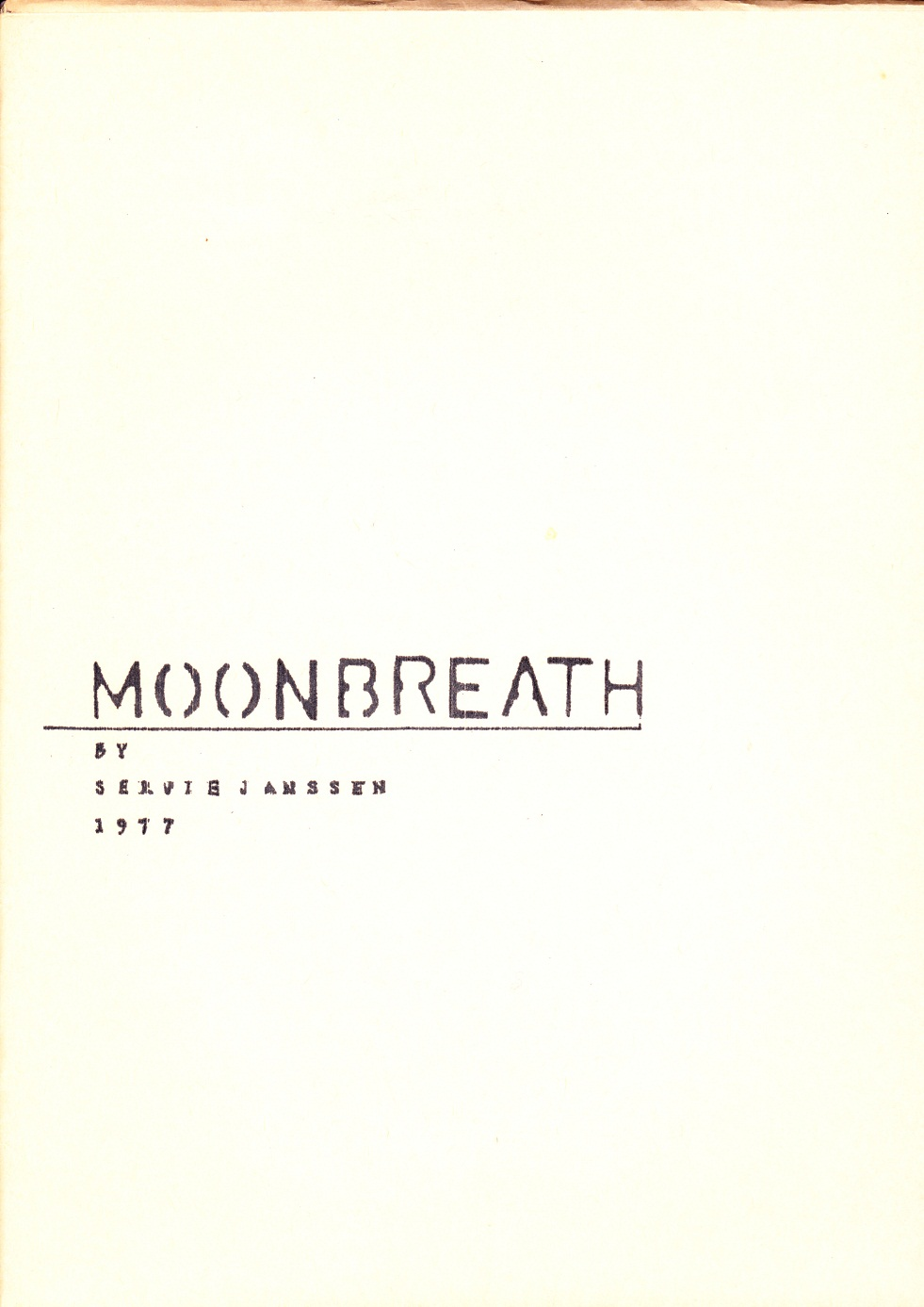 Moonbreath (event),30x23cm.,ed:20,1977,Dreumel(Gld)
